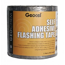 Geocel (Geochem) Self Adhesive Flashing Tape - Lead Grey 3m X 225mm