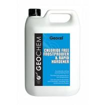 Geocel (Geochem) Chloride Free Frostproofer & Rapid Hardener - 5L