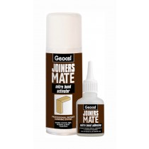 Geocel (Joiners Mate) Mitre Bond Instant Bonding System - 50g Adhesive & 200ml Activator