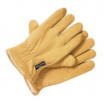 Dickies Lined Leather Glove (GL0200) Tan - Medium