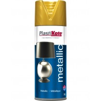 PlastiKote Metallic Spray Paint - Gold - 400ml