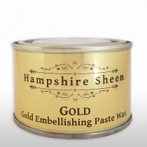 Hampshire Sheen Gold Embellishing Wax - 130g