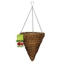 """Gardman Water Hyacinth Hanging Cone - 30cm (12\"""")"""