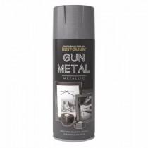 Rust-Oleum (Metallic) Spray Paint - Gun Metal - 400ml