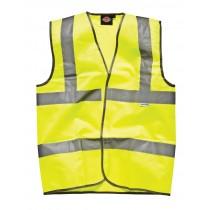Dickies Highway Safety Waistcoat (SA22010) Yellow -  X Large