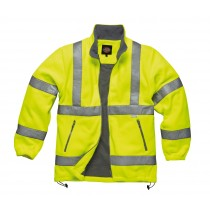 Dickies High Visibility Fleece (SA22032) Yellow - Large
