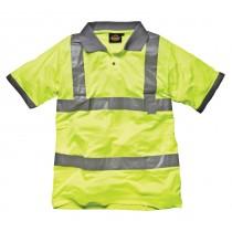 Dickies High Visibility Polo Shirt (SA22050) Yellow - M