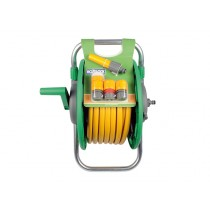 Hozelock 2341 Assembled Hose Reel With 25m Hose + Fittings