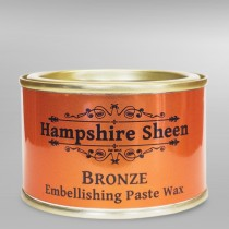 Hampshire Sheen Bronze Embellishing Wax - 130g