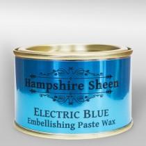 Hampshire Sheen Electric Blue Embellishing Wax - 130g
