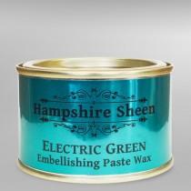 Hampshire Sheen Electric Green Embellishing Wax - 130g