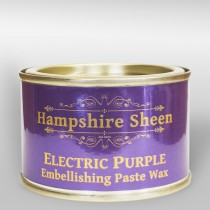 Hampshire Sheen Electric Purple Embellishing Wax - 130g