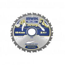 Irwin IRW1897368 Weldtec Circular Saw Blade 184 x 30mm x 24T ATB