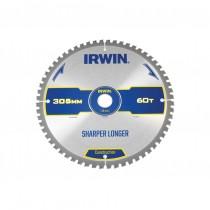 Irwin IRW1897435 Construction Circular Saw Blade 305mm x 30mm x 60T ATB/Neg M