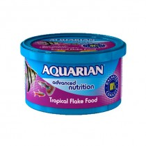 Aquarian Tropical Flake  Fish Food - 50g