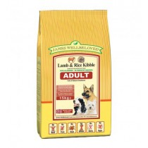 James Wellbeloved (Adult Dog) Lamb & Rice -15kg