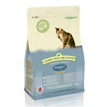 James Wellbeloved (Cat) Hairball - Turkey - 300g