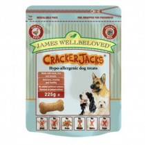 James Wellbeloved (Dog) Cracker Jacks - Duck & Rice - 225g