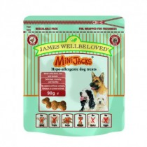 James Wellbeloved (Dog) Minijacks Duck, Rice & Tomato - 90g