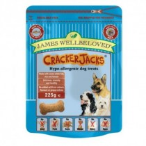James Wellbeloved (Dog) Cracker Jacks - Fish & Rice - 225g