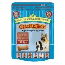 James Wellbeloved (Dog) Cracker Jacks - Fish & Rice - 225g