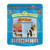 James Wellbeloved (Dog) Minijacks - Fish, Rice & Tomato - 90g