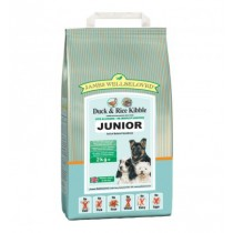 James Wellbeloved (Junior Dog) Duck & Rice Kibble - 2kg