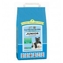 James Wellbeloved (Junior Dog) Fish & Rice Kibble - 2kg