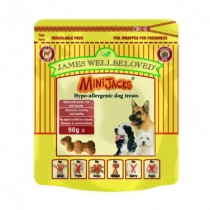 James Wellbeloved (Dog) Minijacks - Lamb, Rice & Tomato - 90g