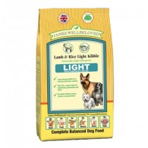 James Wellbeloved (Light Dog) Lamb & Rice Kibble - 12.5kg