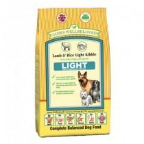 James Wellbeloved (Light Dog) Lamb & Rice Kibble - 12.5kg
