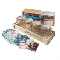 Kilner Clip Top Jar Gift Set - 31 Piece