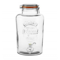 Kilner Clip Top Drinks Dispenser - 8L