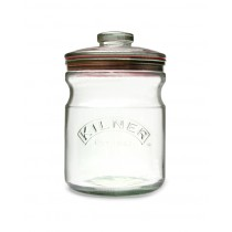 Kilner Push Top Jar - 1L