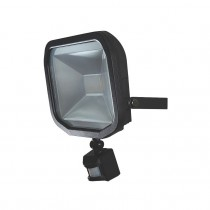 Luceco Guardian Slimline LED Floodlight & PIR - Warm White - 10W