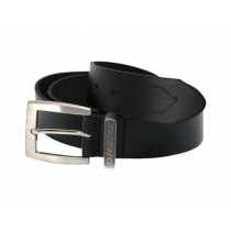 Dickies Leather Belt (BE100) Black - X Large
