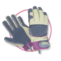 Treadstone Clip Leather Palm Ladies Gloves - S