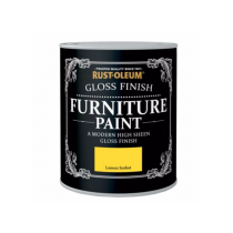Rust-Oleum Furniture Paint (Gloss) Lemon Sorbet- 750ml