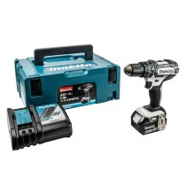 Makita DHP482RM1J LXT Combi Drill Kit - White