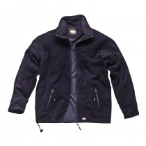 Dickies Micro Fleece Jacket (JW84400) Navy - Medium