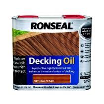 Ronseal Decking Oil - Natural Cedar - 2.5l