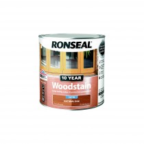 Ronseal 10 Year Woodstain - Natural Oak (Satin) 250ml