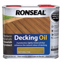 Ronseal Decking Oil - Natural Pine - 2.5l