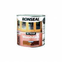 Ronseal 10 Year Woodstain - Oak (Satin) 250ml