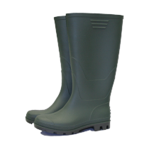 Town & Country Original Full Length Wellington Boots - Green - Size 3