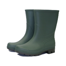 Town & Country Original Half Length Wellington Boots - Green - Size 8