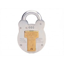 Squire 660 Old English Padlock with Steel Case - 64mm