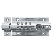 Squire Combi 2 Recodeable Locking Bolt- Chrome - 125mm