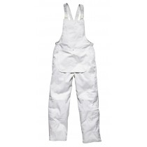 Dickies Painters Bib and Brace (WD650) White - L