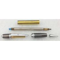 Charnwood (PCLSCGM) Sienna Twist Pencil Kit - Chrome & Gun Metal